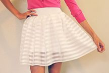 SEW Adult Skirt / by June McPherson
