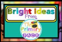 "The Primary Pack {The Primary Pack} / Bright ideas from ""The Primary Pack""! Get great ideas from the teachers of ""The Primary Pack"". This collaborative blog brings you teaching ideas from all over. Educational ideas to make your classroom, or homeschooling experience, a little easier and more creative."