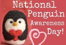 Penguin Awareness Day / Penguin unit study activities and ideas for PreK-2nd Grade. Free Printables