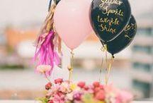 Fab Parties / Parties, DIY, Party Decor, Party Ideas, Balloon, Florals, Centerpieces