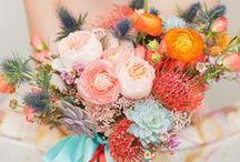 Weddings: Bouquets, Boutonnieres + Centerpieces