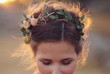 hair / wedding hair / by Kjirsten Brynn Embley