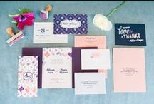 Weddings: Stationery / Invitations, Calligraphy, Tags, Menus, Place Cards, etc.