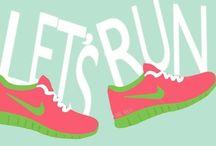 Running / Running <3 / by Sydney Schmidt