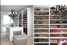 Dream Closets / One day, I am going to have an epic closet. Hopefully, I'll have epic shoes to match.