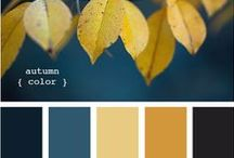 Hue Look Fabulous / Color palates. Ideas for fabric design and decorating at home.