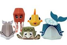 play with paper / Fun paper toys !