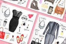 Moda rysunkowa / Ubrania rysunkowe ☺Oraz różne patenty modowe :)