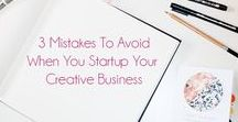 Creative Business Startup Support / How to's, advice and guides for start up creative businesses to help you launch your products, build your website, and start selling.