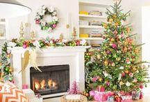 Christmas - Pink and Green