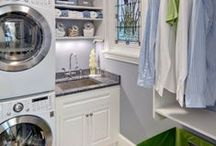 Laundry Room / Inspiration for the laundry room, whether you're looking to renovate, spruce up, fix, DIY, or dream.