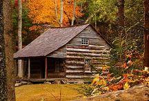off grid cabin / by Christina Dalton