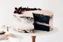 Cake. / Wedding cakes, birthday cakes, awesome cakes, yum.
