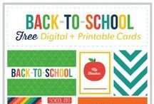 Back to School! / Everything you need for a smooth transition back to school with your family! Ideas, crafts, recipes, photography, parenting tips, educator tips and more!
