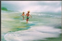 Art Scenery Sea / Sea Scenery in Art Realism.With or Without people in them❢ / by Bona Bonitta