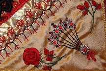 Bead Embroidery, Crazy Quilting / Including appliques, intricate patterns / by Rose