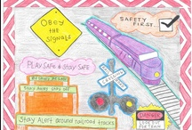 International Crossing Awareness Day Kids' Drawing Contest! / The 4rd annual kids' drawing contest for International Level Crossing Awareness Day 2014 (June 3, 2014). The competition is open to all children ages 4-7 and 8-12. The deadline for entries is March 11, 2014. More info: http://www.ilcad.org/Kids-corner,218.html