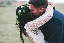 Hitched. / Inspiring portraits of the newly knot-tied.