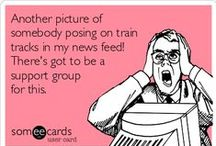 Rail Safety Memes / Pin these messages to remind your followers about the importance of staying safe around the tracks!