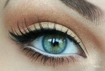 Eyes / #eye #makeup pretty colors and tips and tricks!