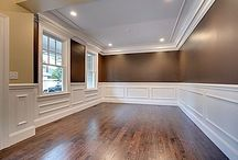 Wainscoting formal dining