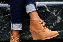 Boots and Booties / Fall fashion and style for the feet