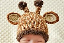 Baby Hats / Crochet and knit hats for the little ones. Aren't they cute? #DIY