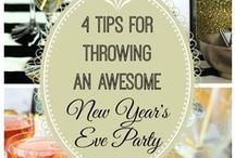 New Years / New Years Celebration? Party planning, cocktails, crafts, and more!