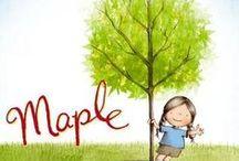 Maple the children's book