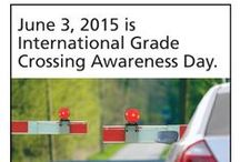 ILCAD 2015 / Photos and resources about the June 3, 2015 observance of International Level Crossing Awareness Day! This year's effort in the U.S. included the launch of a new crossing safety Video PSA; the international event also emphasized outreach to pedestrians and bicyclists.