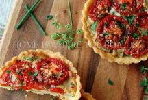 Savory Tarts and Pies / by Christine Oubre