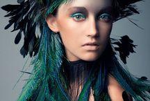 COLORS: TEALS & PEACOCK / Teal is a dark greenish blue or a dark bluish green.