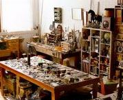 Stu-stu-studio! / I have a teeny studio, but I have big dreams for it!