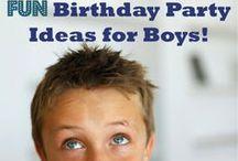 BoyS BiRthDays!! / by Sara Martinez Smith