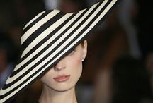 COLORS: BLACK AND WHITE STRIPES / Pattern of black stripes on a white field creating a classic dramatic look.