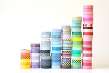 Wanting Washi tape / I have serious mega-love for washi tape. I just want to stretch a pole across my studio and fill it up with rolls of tape.