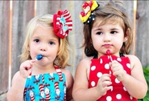 FAM: MY ANDI AND LILY APPAREL / Clothes For Little Girls. / by C O
