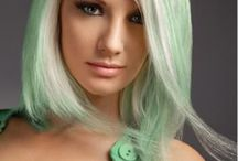 COLORS: MINT & SPEARMENT /  magic mint, a light tint of spring green