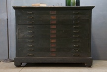 Fabulous flat files! / I don't know what I'd do if I didn't have flat files in my studio!