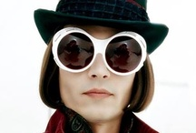 I ♥ Johnny Depp as Willy Wonka / 2005 Charlie and the Chocolate Factory / by Caty Hespel