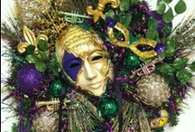 """CELEBRATE: MARDI GRAS / """"Mardi Gras"""" are events beginning on or after Epiphany & culminating on the day before Ash Wednesday. It is also called Fat Tuesday referring to the practice eating richer foods before the ritual fasting of Lent."""