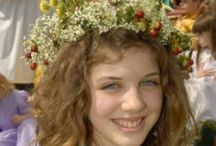 CELEBRATE: SWEDISH MIDSUMMER HOLIDAY / Midsummer's Eve  is celebrated on Friday and Saturday between 19 June and 26 June.
