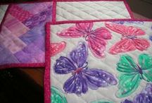 Placemats and table runners / Home made place mats and table runners