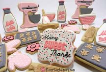 Cut-Out Cookies & Royal Icing / Recipes, tips and ideas for decorating glorious cookies!! {someday I will be awesome at this, I've decided.} / by Carey Cannon
