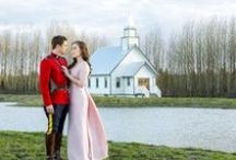When Calls the Heart / Great Hallmark series, I am hooked. Love Mounty Jack and red serge