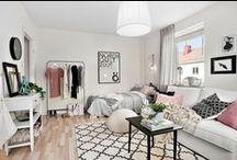 Décor | Mini Loft / small apartment / studio apartment