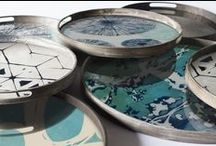 Trays - Ocean Blue Collection