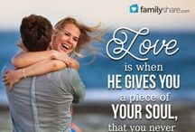 Love / Love and relationship ideas for everyone in your life...family, spouse, friends, siblings, parents.  Find more wonderful ideas and articles on FamilyShare.com.