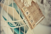 Lovely Ideas To Put Cards! / Ideas and Inspiration for card holders at weddings