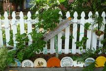 Vintage Planters, Plant Care & Gardens / by Dixie Lechleider